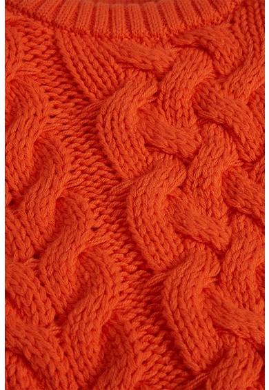 NEXT Csavart kötésmintájú pulóver Fiú
