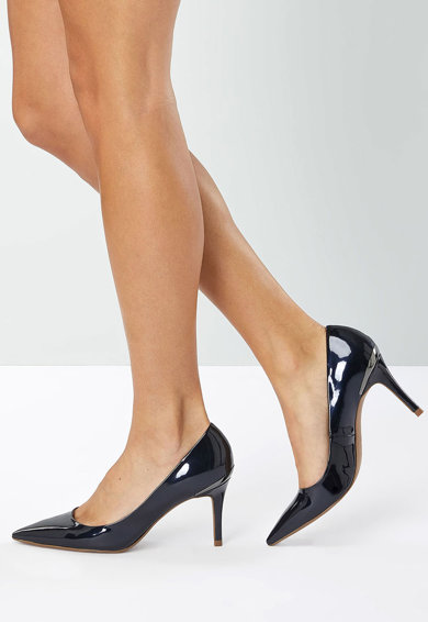 NEXT Pantofi stiletto cu aspect lacuit Femei