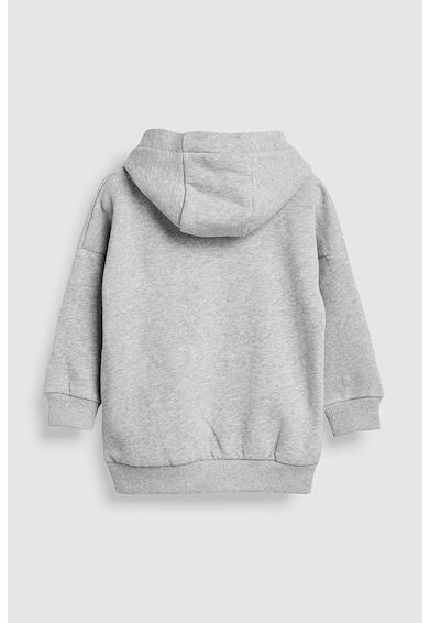 NEXT Csíkos kapucnis pulóver Fiú