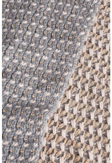NEXT Fular lejer din tricot cu terminatii striate Femei
