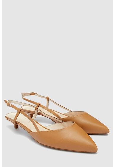 NEXT Pantofi slingback de piele cu toc kitten Femei