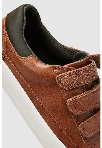 NEXT Műbőr tépőzáras sneakers cipő Fiú