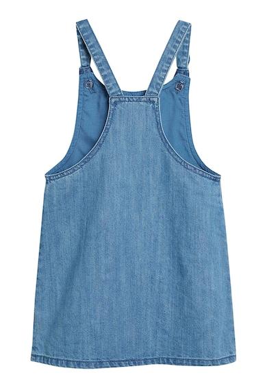 NEXT Vékony farmer kantáros ruha zsebekkel az oldalán Lány