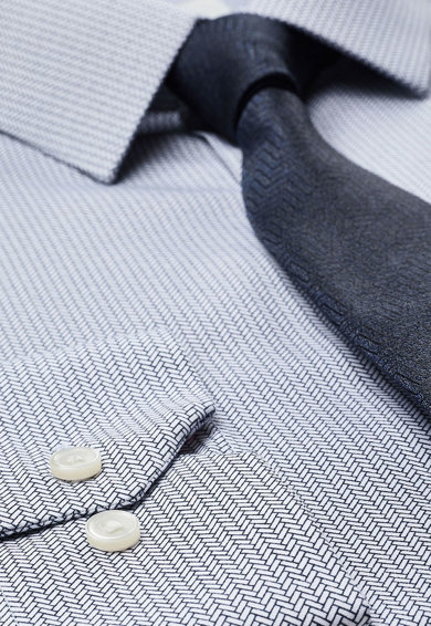NEXT Риза със стандартна кройка и вратовръзка Мъже
