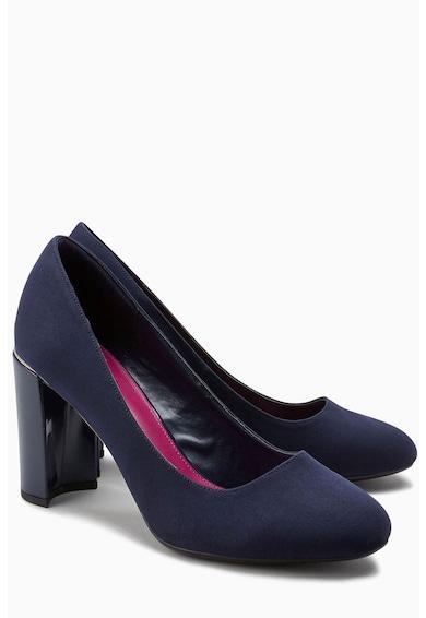 NEXT Pantofi de piele intoarsa cu toc masiv Femei