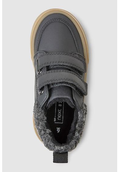 NEXT Középmagas szárú műbőr sneakers cipő tépőzárral Fiú