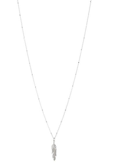 NEXT Ezüst nyaklánc toll alakú medállal női