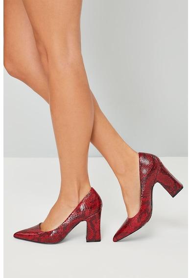 NEXT Pantofi de piele ecologica, cu model de piele de reptila Femei