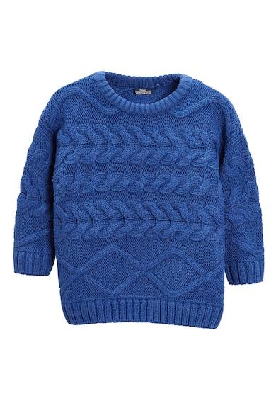 NEXT Csavart kötésmintás pulóver Fiú