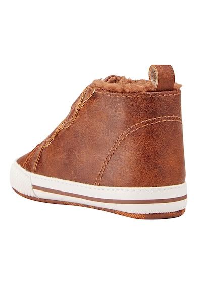 NEXT Pantofi sport de piele ecologica, cu captuseala de teddy Baieti