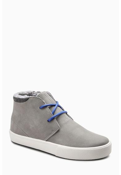 NEXT Chukka cipő irha hatású béléssel Fiú