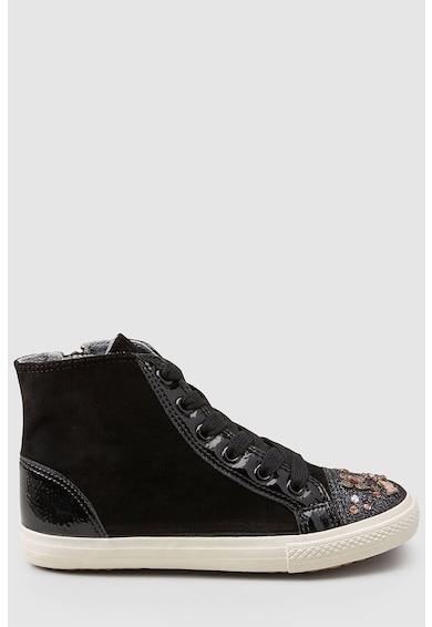 NEXT Díszes magas szárú plimsolls cipő Lány