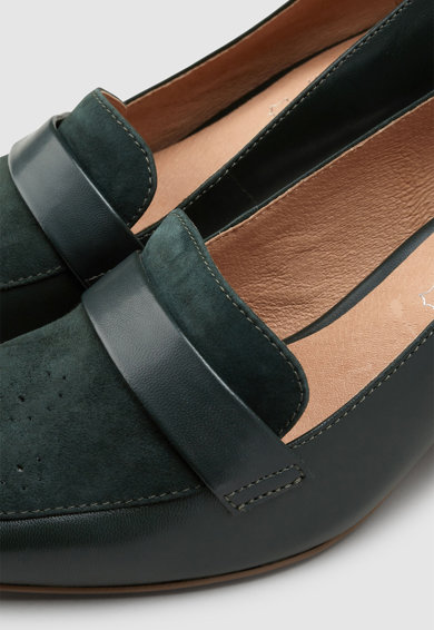NEXT Pantofi de piele cu calapod lat Femei