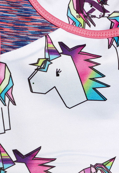 NEXT Top crop cu model unicorn Fete
