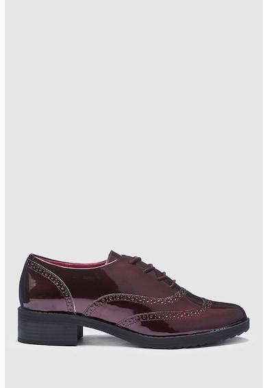 NEXT Pantofi brogue cu aspect lacuit Femei