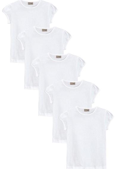 NEXT Puffos ujjú póló szett - 5 db Lány