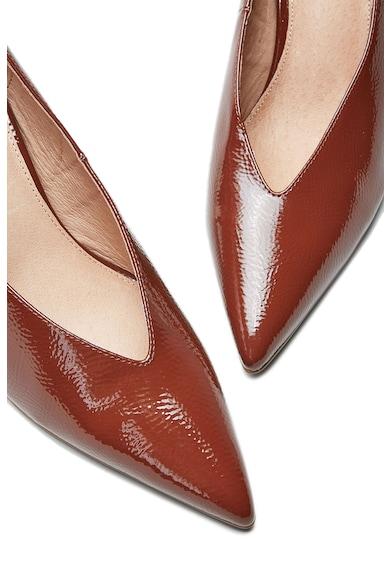 NEXT Pantofi de piele ecologica, cu aspect lacuit Femei