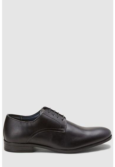 NEXT Pantofi derby de piele ecologica Barbati