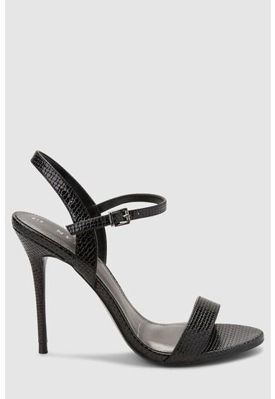 NEXT Sandale de piele ecologica, cu aspect texturat Femei