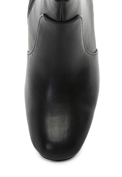RB DI ROCCOBAROCCO Botine de piele ecologica cu aplicatii cu tinte pe toc Gorky Femei