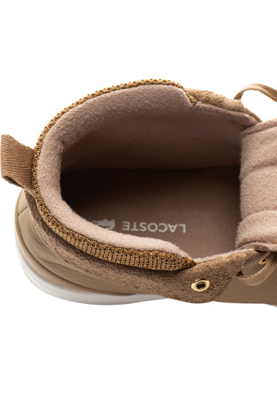 Lacoste Pantofi sport mid-high de piele Explorateur Classic Femei