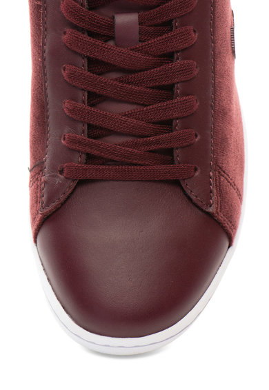 Lacoste Carnaby Evo bársony és bőr sneakers cipő 2 női