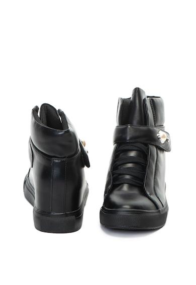 Yamamay Hugo műbőr rejtett telitalpú cipő női