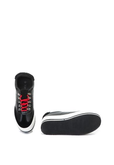 Yamamay Pantofi sport flatform cu captuseala de teddy Sammy Femei