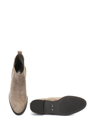Lauren Ralph Lauren Haana rövid szárú nyersbőr chelsea csizma női