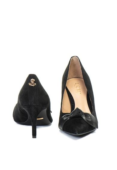 Lauren Ralph Lauren Pantofi de piele intoarsa, cu varf ascutit Lee Femei