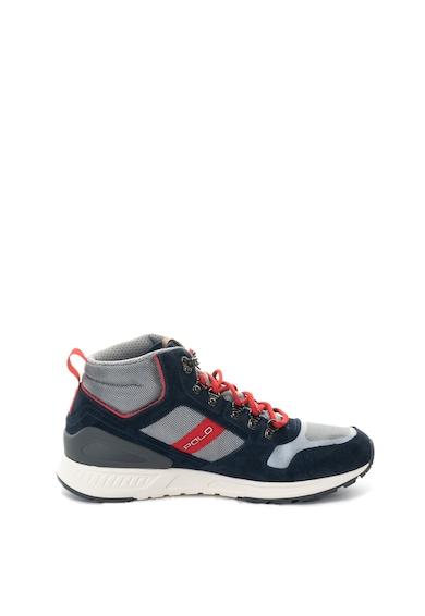 Polo Ralph Lauren Train magas szárú sneakers cipő nyersbőr szegélyekkel férfi