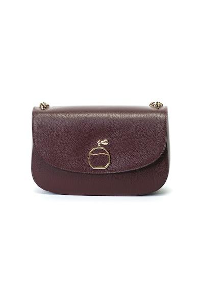 Antonia Moretti Кожена чанта с презрамка тип верижка Жени