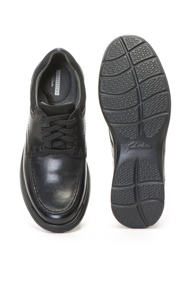 Clarks Pantofi de piele Cotrell Edge Barbati