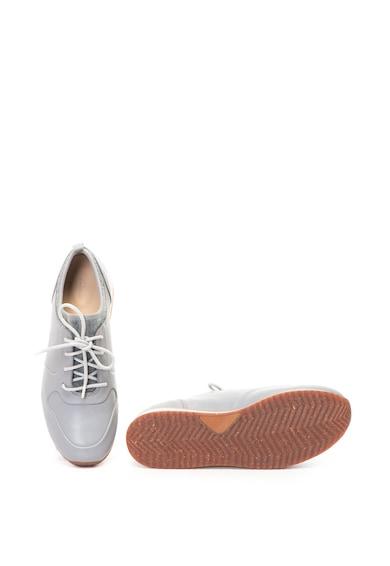 Clarks Pantofi de piele cu captuseala tip soseta Hero Fuse Femei