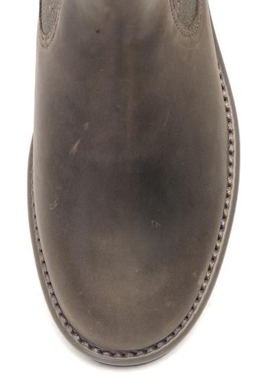 Clarks Orinoco Hot bőr chelsea csizma rugalmas betétekkel női