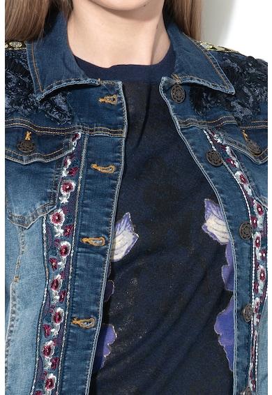 DESIGUAL Яке Emuna от деним с плетени ръкави Жени
