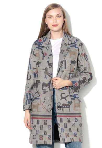 DESIGUAL Палто Zhu с етно десен Жени