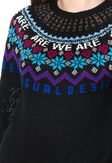 DESIGUAL Пуловер Stockholm с мъниста Жени