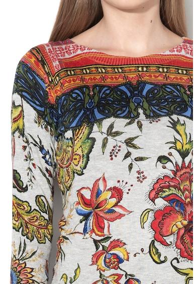 DESIGUAL Фино плетена блуза Chintz с щампа Жени