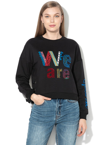 2e0865b768 Vivian mintás pulóver fűzős részletekkel - DESIGUAL (18WWSK24-2000)