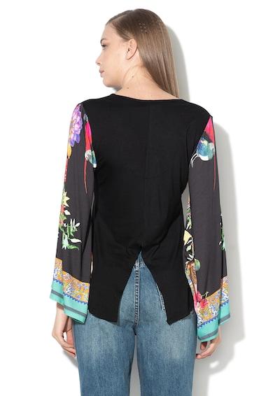 DESIGUAL Bluza cu decolteu in V Eltsa Femei