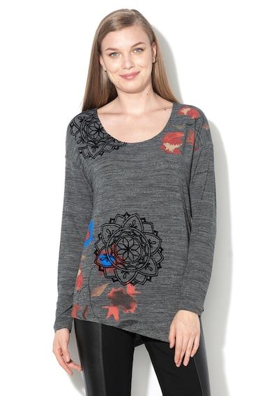 DESIGUAL Блуза Uma с асиметричен подгъв Жени