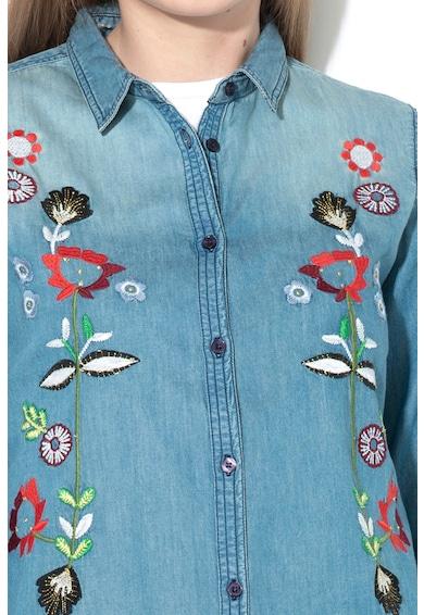 DESIGUAL Риза Greta от шамбре Жени