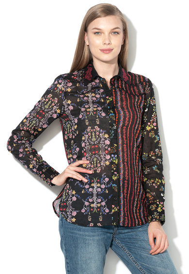 DESIGUAL Риза Leila с ажур Жени