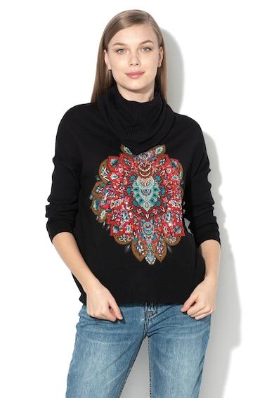 DESIGUAL Пуловер Casandra с шал-яка Жени