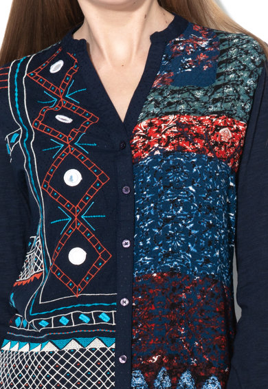 DESIGUAL Риза Perry с етно бродерии Жени