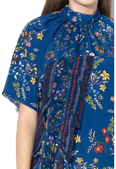 DESIGUAL Свободна рокля Florence с флорален десен Жени