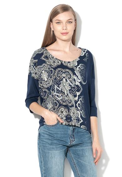 DESIGUAL Bluza din tricot fin, cu imprimeu grafic Nisa Femei