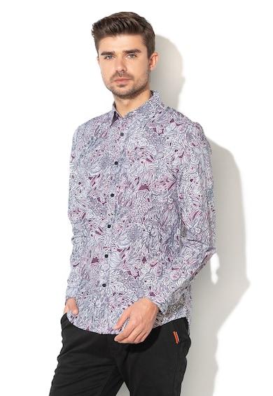 DESIGUAL Риза Claudio с десен Мъже