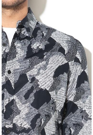 DESIGUAL Terepmintás ing férfi